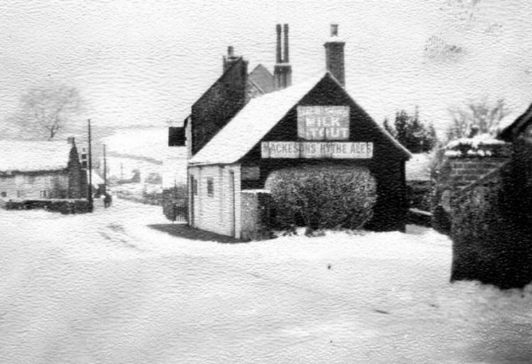 Hope Inn in snow date unknown