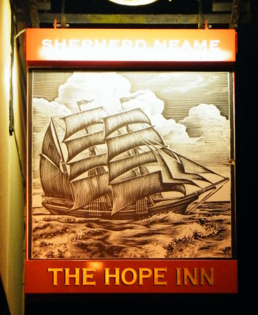 Hope Inn sign 2011