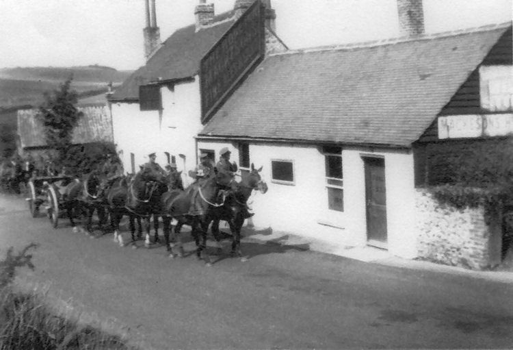 Hope Inn army late 1930's