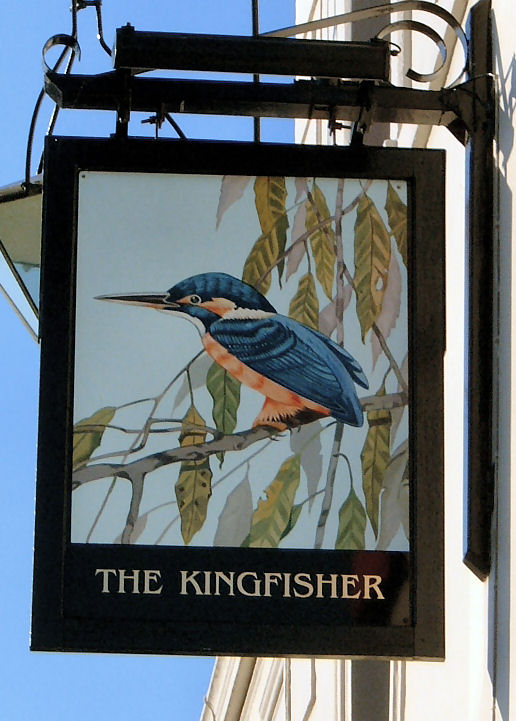 Kingfisher sign