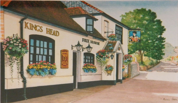 Painting of Kings Head
