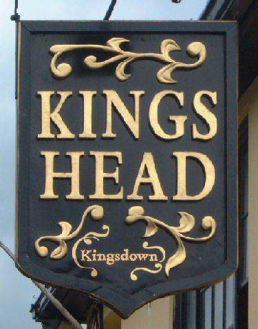 Kings Head Sign