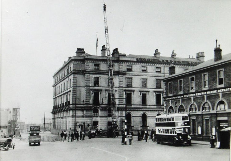 Lord Warden and Fire Ladder 1937