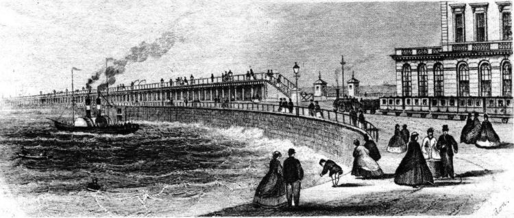 Lord Warden Hotel and Admiralty Pier print