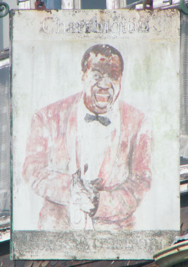 Louis Armstrong sign 1