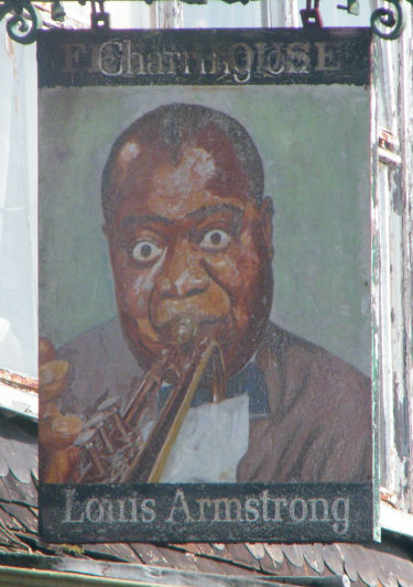 Louis Armstrong sign 2