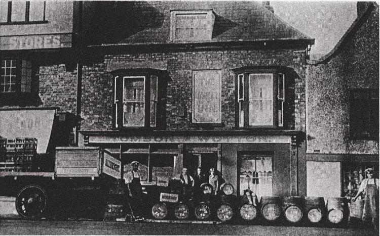 Market Inn in Sandwich circa 1914