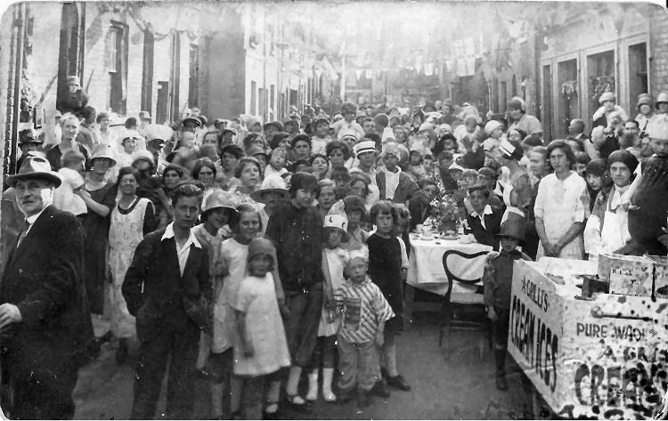 Peace tresty party 1919.