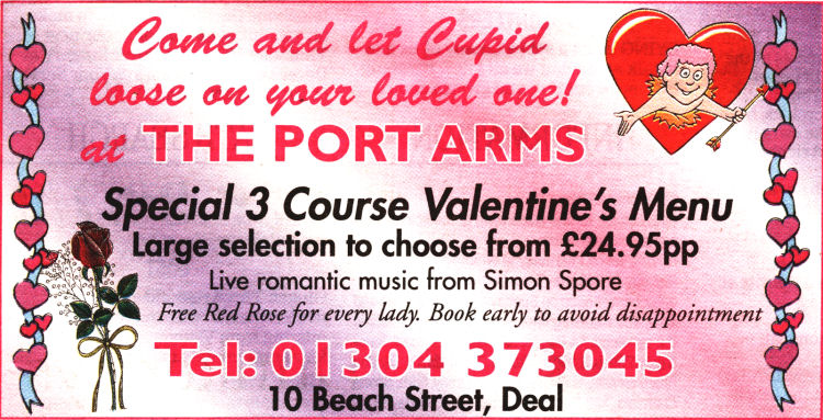 Port Arms advert
