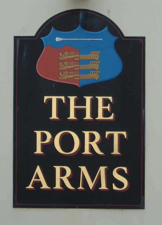 Port Arms sign in Deal