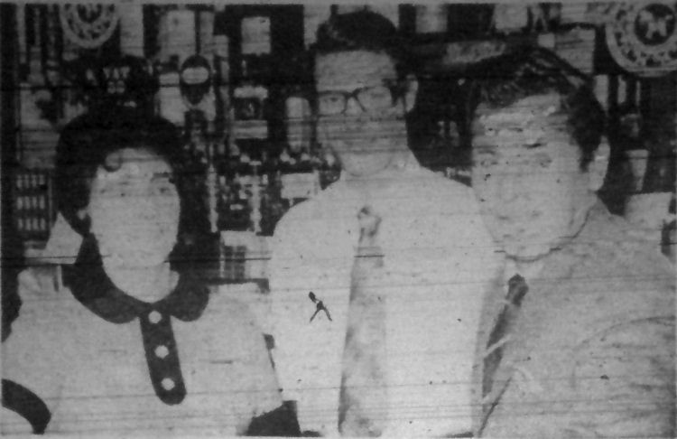 White Horse licensee 1971