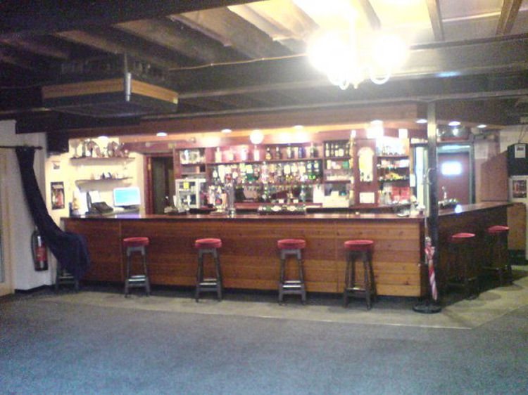 Whitfield Club bar