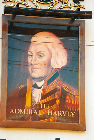 Admiral Harvey sign 1991