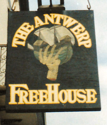 Antwerp sign 1987