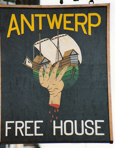 Antwerp sign 1994