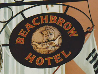Beachbrow sign 1993