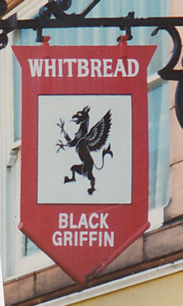 Black Griffin sign 1980s
