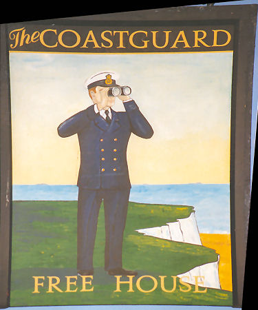 Coastguard sign 1991