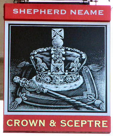 Crown and Sceptre sign 2016