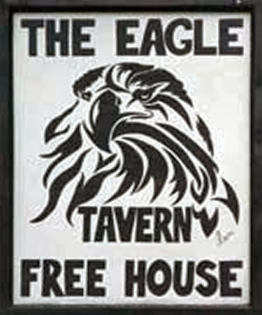Eagle Tavern sign 2012