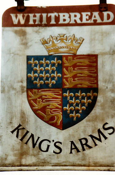King's Arms sign 1991