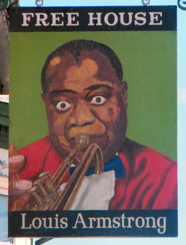 Louis Armstrong sign August 2012