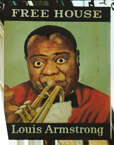 Louis Armstrong sign 1991