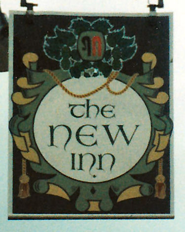 New Inn sign 1986