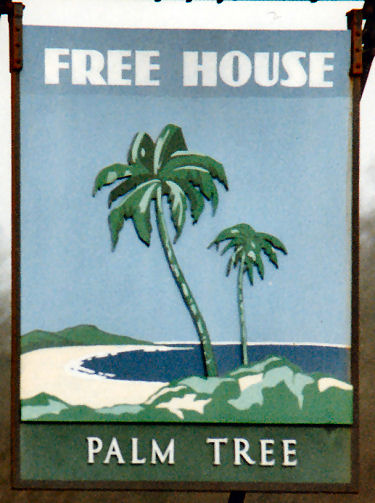 Palm Tree sign 1991