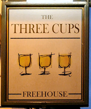Three Cups sign 2007