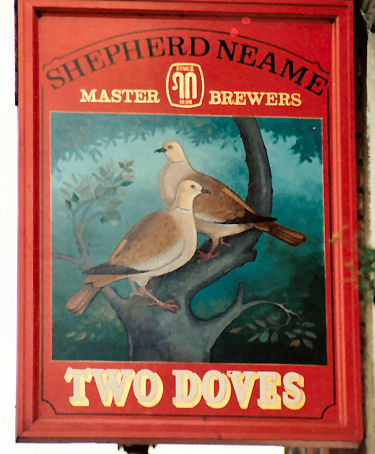 Two Doves sign 1971