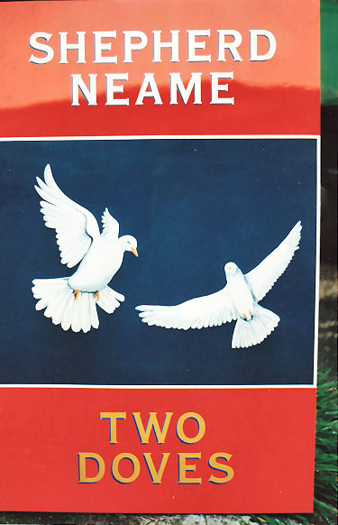 Two Doves sign 1991