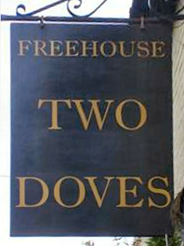 Two Doves sign 2010